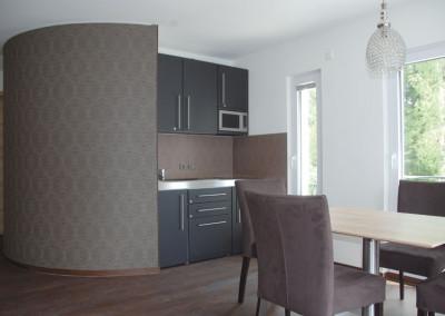 Apartment - Kategorie A - Küchenzeile