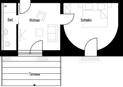 Apartment - Kategorie C - Grundriss