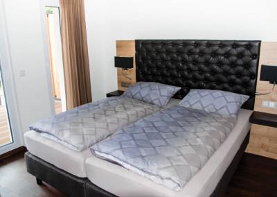 Apartment - Kategorie D - Schlafzimmer