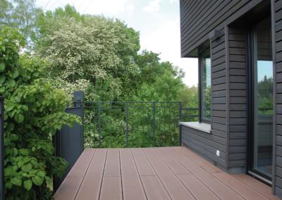 Ferienwohnung - Kategorie B - Balkon